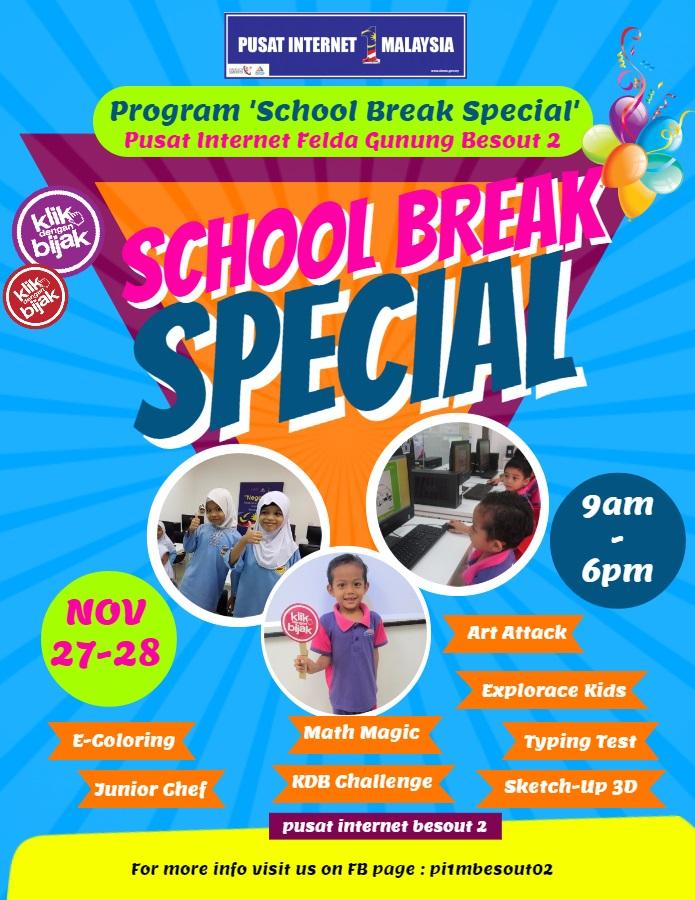 Program School Break Special