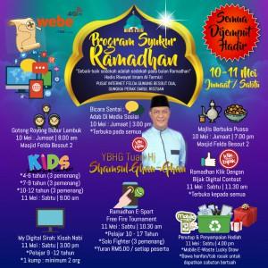 1Program Syukur Ramadhan 2019 - Made with PosterMyWall